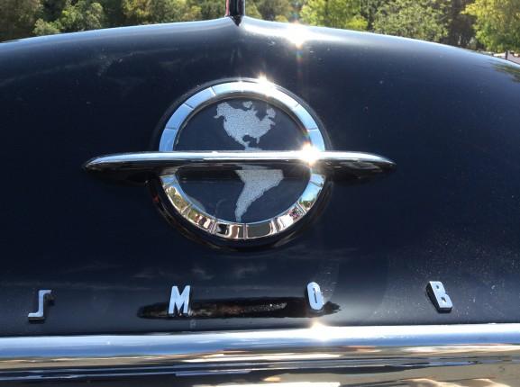 50's Oldsmobile hood emblem